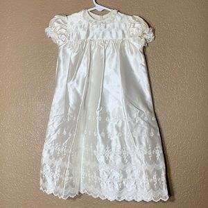 Vintage Madonna by Haddad baby girl baptism gown